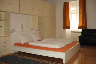 Zimmer Kürbis Doppelbett