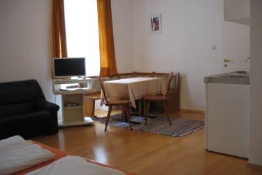 Zimmer Kürbis Sitzecke