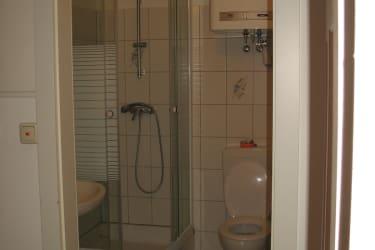 Zimmer Kürbis Bad mit Dusche