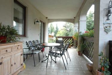 Terrasse fürs Plauscherl zwischendurch