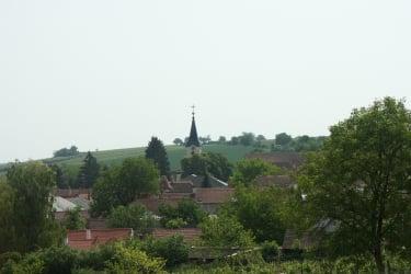 Blick auf Deinzendorf