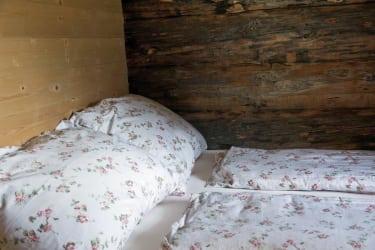 Blockhaus - Schlafzimmer