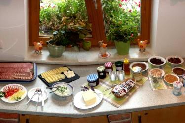 Unser Reichhaltiges Bio-Frühstücks-Buffet