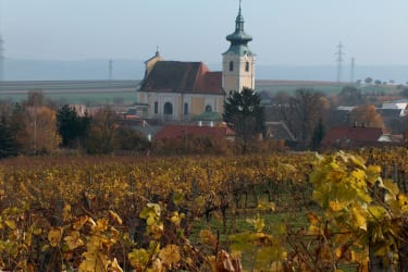 Unerer Gaisberg mit Kirche