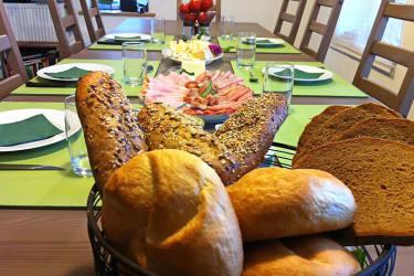 Traubengarten Winkler - Frühstücksraum