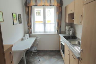 Haus Fasching - Küche der Ferienwohnung