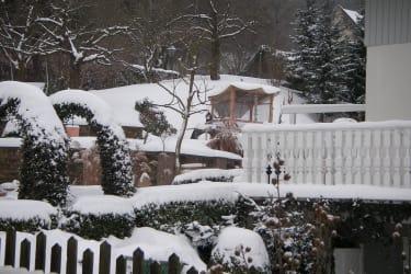 Winterliche Ansicht der Umgebung