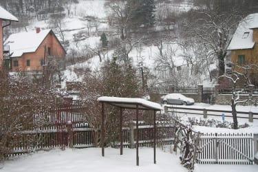 Aggsbach Markt im Winter