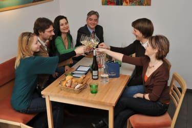 Weinverkostung