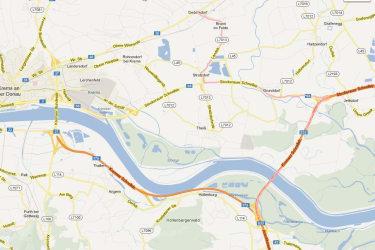 Weingut Berger - Anfahrtskarte