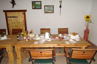 Gästehaus zur alten Buche - Frühstückszeit