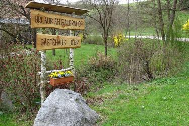 Gästehaus zur alten Buche - zum landwirtschaftlichen Betrieb