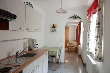 Gartenwohnung Küche