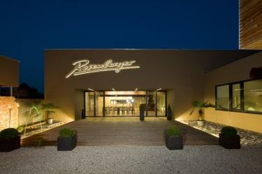 Weingut Rosenberger in der Nacht