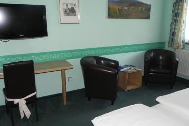 Die Zimmereinrichtung wurde im März 2012 erneuert
