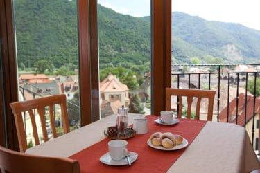 Frühstücksraum mit toller Aussicht