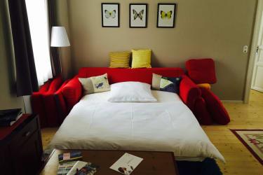 Das Sofabett in der