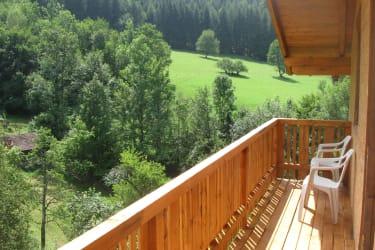 Büchlhof - Balkon Ferienwohnung Himmelalm