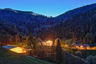 Zeidelhof - Anwesen bei Nacht (© Christoph Kempter / www.lensflair.at)