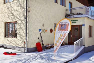 Eingangsbereich im Winter