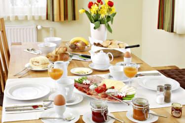 unser Frühstückstisch