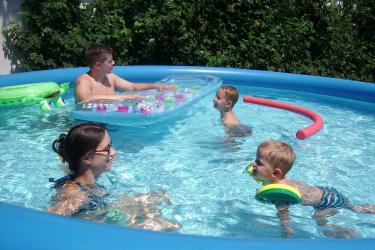 Schwimmen macht Spaß
