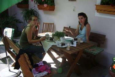 kaffeejause für die Mamas