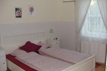 Das weiße Zimmer in der Ferienwohnung
