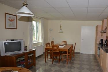 Wohnessküche in der Ferienwohnung