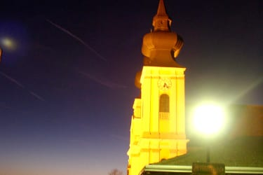 Maria Taferl at night