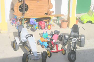 Unser Fuhrpark für Kinder