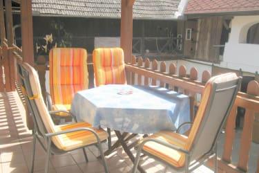 Sitzplatz auf der Terrasse