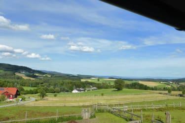 Gut Kehrbachl - Ausblick Ferienwohnung
