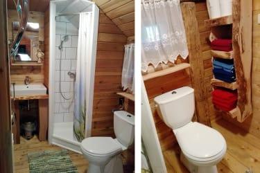 Gutkehrbachl - Blockhaus - Badezimmer