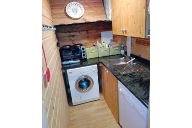 Gut Kehrbachl - Blockhaus - Kochnische