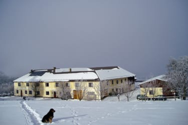 Forellenhof im Winter