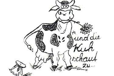 Forellenhof ... und die Kuh schaut zu