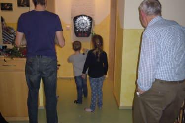 Dartscheibe - für jung und alt ein Spass