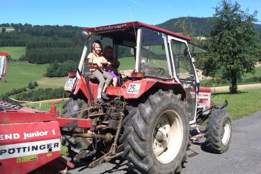 Erlebniss Traktorfahrt