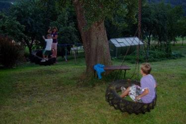 Spaß am Reifen beim Birnbaum