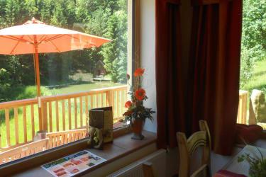 Prannleithen - Aussicht vom Frühstücksraum