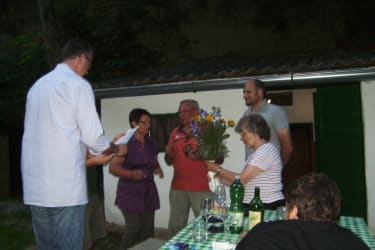 Gästeehrung