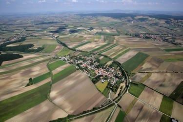 Waltersdorf aus der Luft 2013