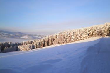 Winterlandschaft am Wachahof
