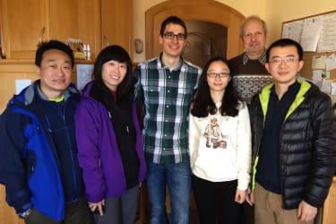 Gäste aus China