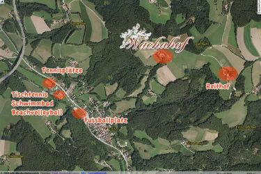 Freizeitangebot rund um den Wachahof