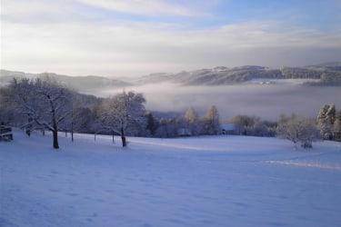Landschafts-winter-foto