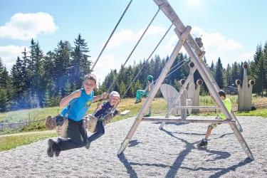 Abenteuerspielplatz am Speicherteich (c) Angelika Morgenbesser