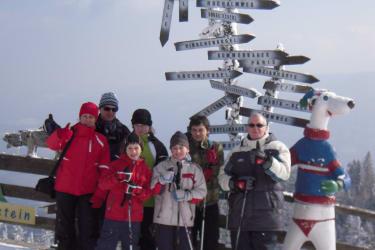 Schneewanderung auf den Sonnwendstein
