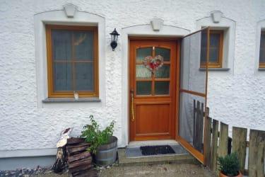 Ferienwohnung Blumenwiese - Eingang